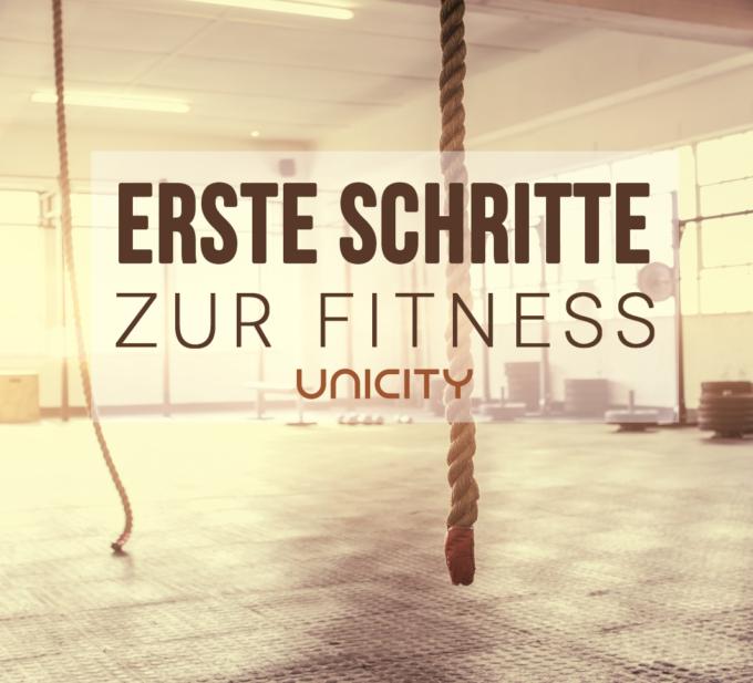 Erste Schritte zur Fitness