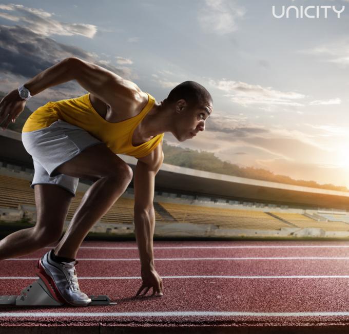 Olympics RunningTag