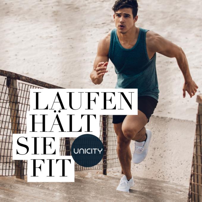 Laufen hält Sie fit
